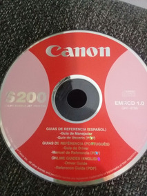 Cd Drive De Instalaçäo Para Impressora Canon S 200
