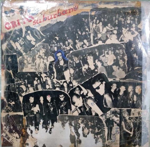 Lp Grito Suburbano 1982 45 Rpm (leia A Descrição)