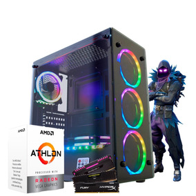 Pc Gamer Amd Athlon 200ge / Ssd 240gb / Atlantis Ii Rgb