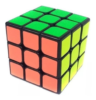 Cubo Magico 3x3x3 Puzzle 5,5 Cm Rubik Magic Cube Colores