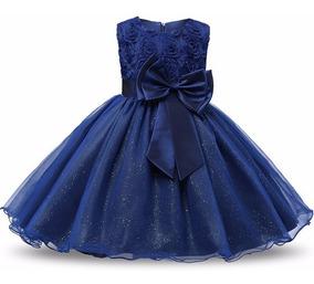 Lindo Vestido Azul - Bebê - Casamento - Festas