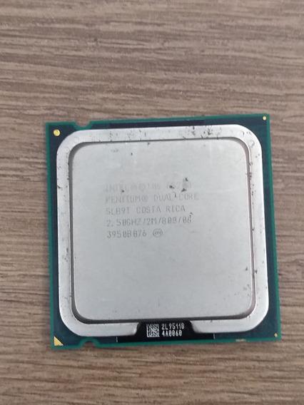 Processador Intel Pentium E5200 Dual Core 2,50ghz + Box Coll