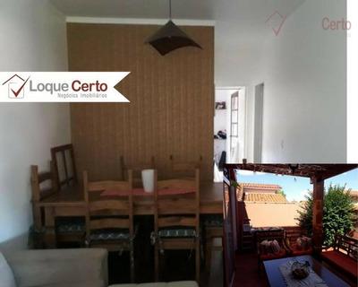 Casa Residencial À Venda, Moradas De Itaicí, Indaiatuba. - Ca0247