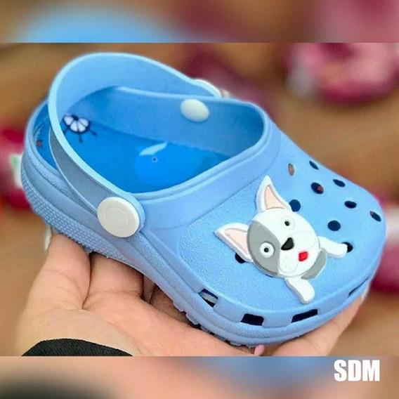 Crocs Juju Dog Azul Claro Infantil