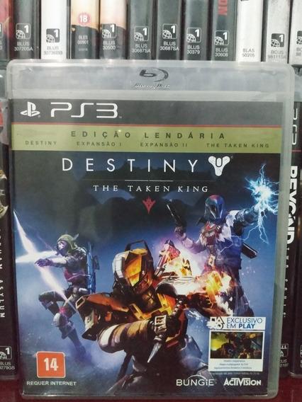 Destiny Edição Lendária Ps3 | Parcelamento Sem Juros