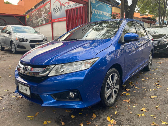 Honda City 2017 Ex Unica Dueña Factura Original Impecable