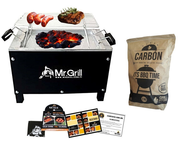 Grillstore - Caja China Mediana S/r Black Edition + Carbón