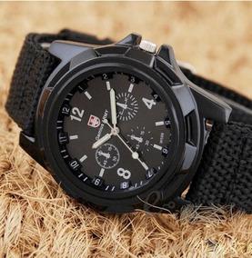 Relógio Militar Genius Army Preto