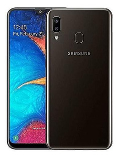 Celular Libre Samsung Galaxy A20 Sm-a205gzklaro Negro