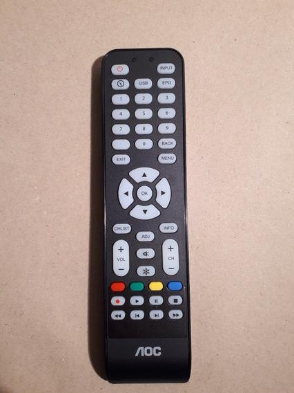 Controle Remoto Original Aoc Cr1994511 Retirado Tv