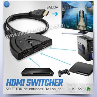 Hdmi Switcher Selector De Entradas