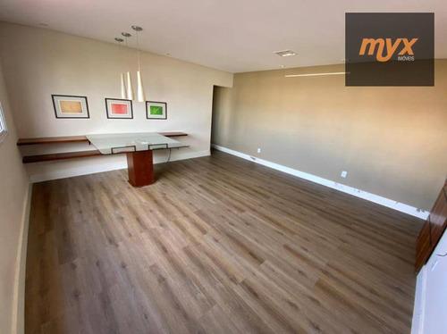 Apartamento Com 3 Dormitórios À Venda, 110 M² Por R$ 575.000,00 - Campo Grande - Santos/sp - Ap6059