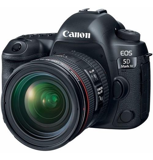 Canon Eos 5d Mark Iv C/ 24-70mm F4l Garantia 2 Anos