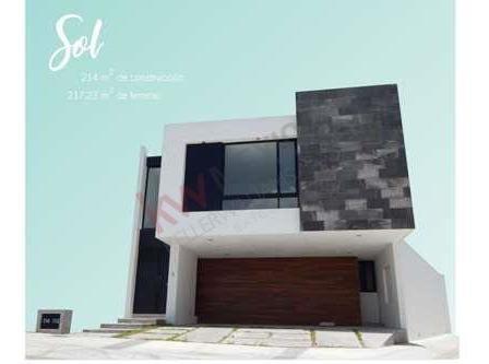 Casa En Privada Alto Lago, Cerrada Tinto, Modelo Sol