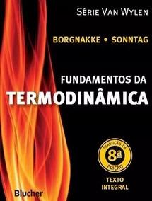 Exercícios Resolvidos Fundamentos Da Termodinâmica Sonntag 8