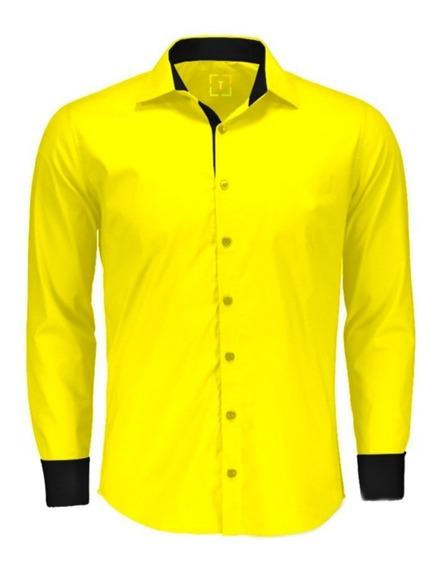 Camisa Social Plus Size - Moda Maior Varias Cores - Barato
