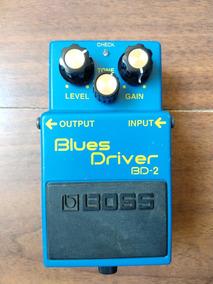 Pedal Blues Driver Boss Bd-2 Com Mod Verve