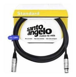 Cabo Santo Ângelo Standard 0,30mm Canon/canon (xlr) 7,62m