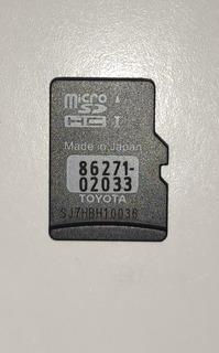 Cartao Sd Chip Mapas Toyota Original