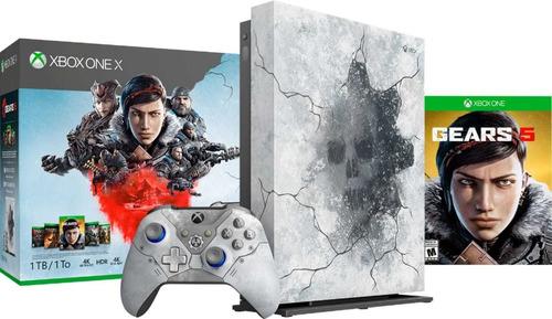 Xbox One X Nueva Importada De Usa .edicion Limitada Gear Of