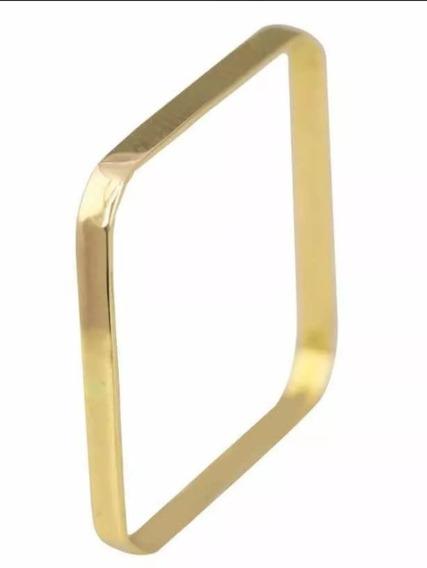 Anel Xuxa Quadrado Ouro 18kl 750 1 Gramas