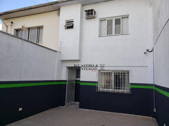 Sobrado Com 2 Dormitórios Para Alugar, 100 M² Por R$ 1.900/mês - Mooca - São Paulo/sp - So0202
