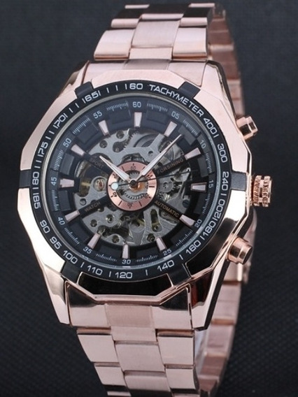 Reloj Forsining Esqueleto