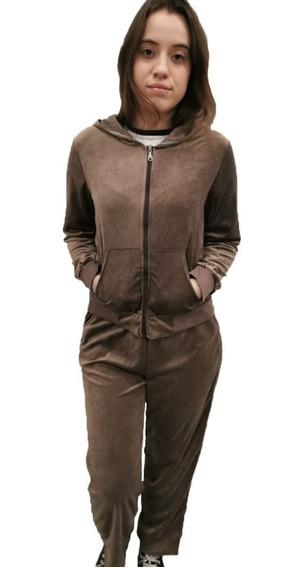 Conjunto Pijama Plush Feminino Calça + Blusa Confortável