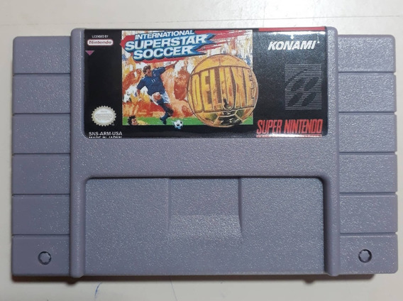 International Super Star Soccer Deluxe Super Nintendo