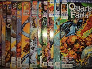 Herois Renascem Quarteto Fantastico 1 A 12 Editora Abril Exc