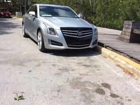 Cadillac Ats 2.0 Paq. D At 2013 Interiores Rojos Mandos Al V