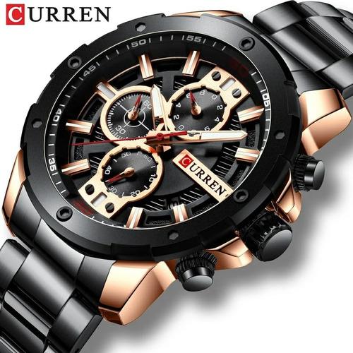 Relógio  Inoxidável Masculino A Prova D'água 8336/original