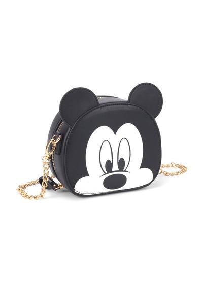 Bolsa Mickey Transversal Alça Corrente Disney 78371 Original