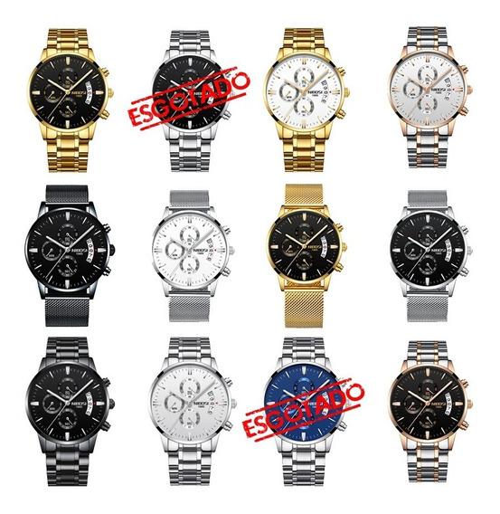 Relógio Nibosi 2309 Luxo Original Promoção