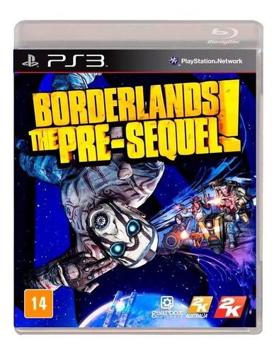 Borderlands The Pre Sequel Ps3 Físico Novo Rj ( Em Inglês )