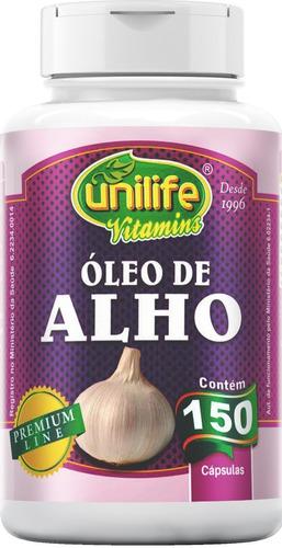 Óleo De Alho 150 Cápsulas 350mg - Unilife