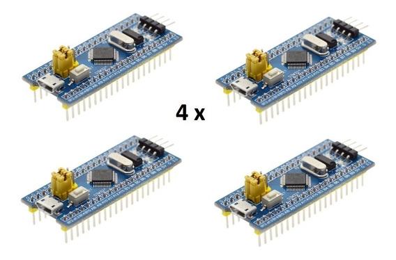 4 X Stm32f103 C8t6 Arm Stm32 Arduino Stm32f103c8t6