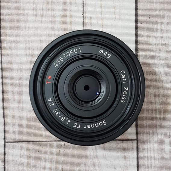 Lente Sony Sonnar T* Fe 35 Mm F/2.8 Za