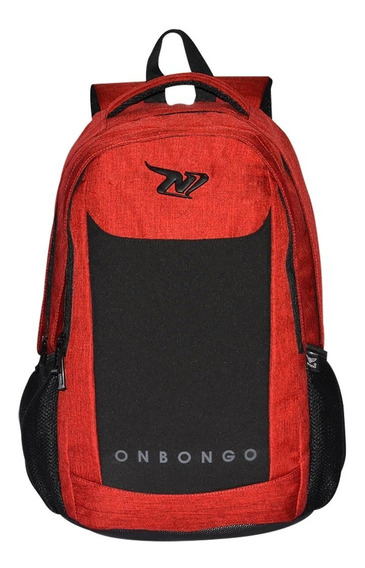 Mochila Onbongo - Casual - Vinho - Porta Notebook