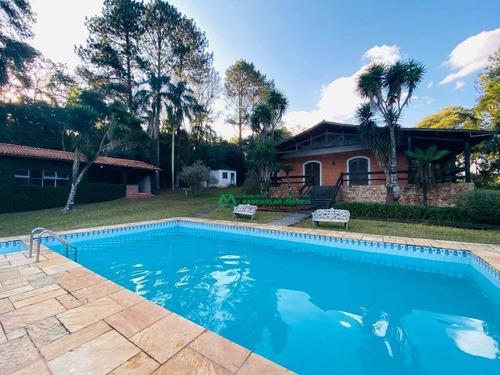 Chácara Com 4 Dormitórios À Venda, 20000 M² Por R$ 865.000,00 - Nhombuca ( Caucaia Do Alto) - Cotia/sp - Ch0197