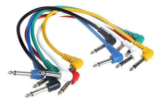 Cables Para Pedales De Efectos De Guitarra.