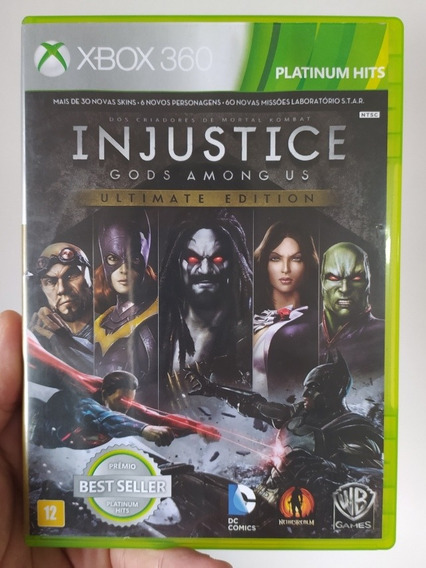 Injustice Gods Among Us Ultimate Edition Original Xbox 360