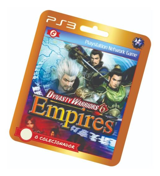 Promoção!! Dynasty Warriors 6 Empires (ps3)