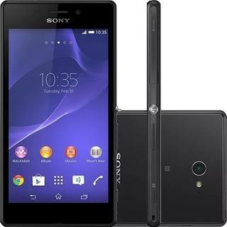 Sony Xperia M2 Aqua D2403 Vitrine Anatel!nf+fone+cabo+garant