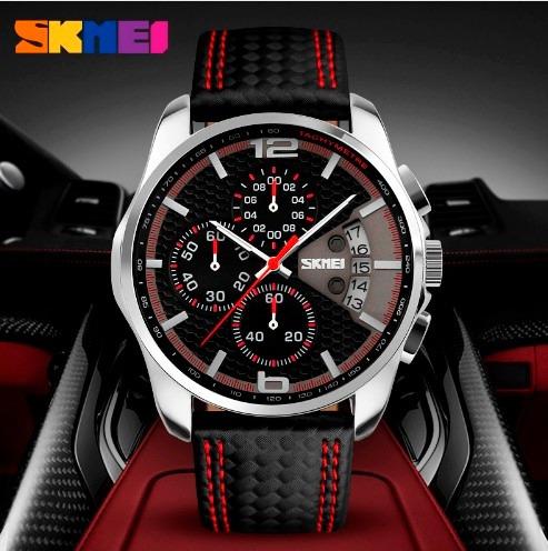 Relógio Skmei 9106 Top Luxo Lançamento 2017