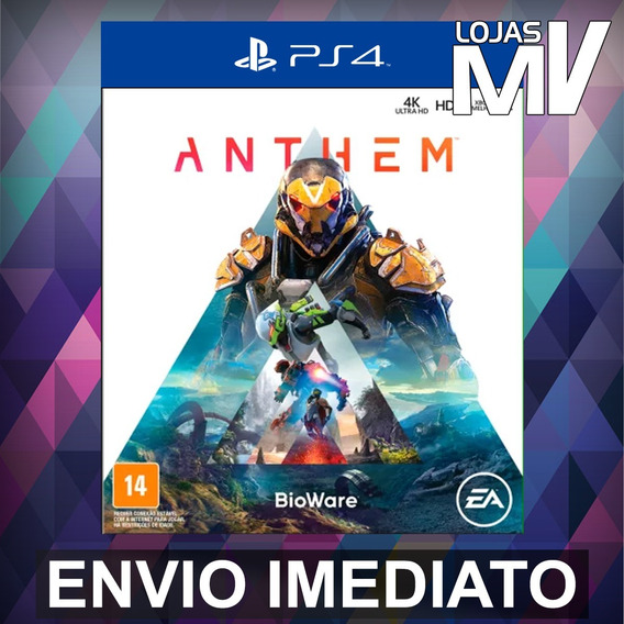 Anthem Ps4 Codigo 12 Digitos Br - Ja Enviando