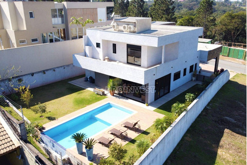 Imagem 1 de 30 de Casa Em Condominio Na Granja Viana 4 Suítes Moderna Alphaville Granja Viana - Ca17987