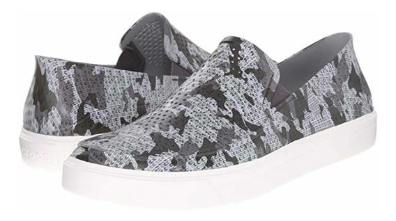 Crocs Zapato Sandalia Caballero Citilane Roka Camo T24 Mx