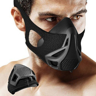 Training Mask Mascara Elevación Mma Crossfit 4 Niveles