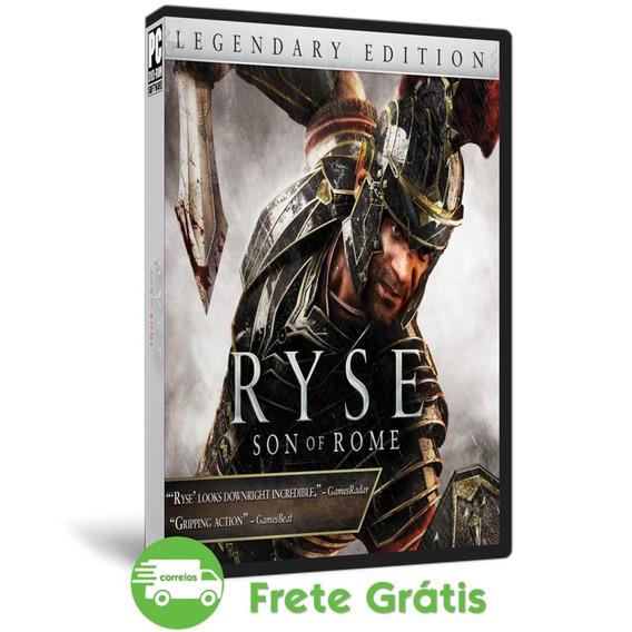 Ryse Son Of Rome Pc Legendary Edition Português Mídia Dvd